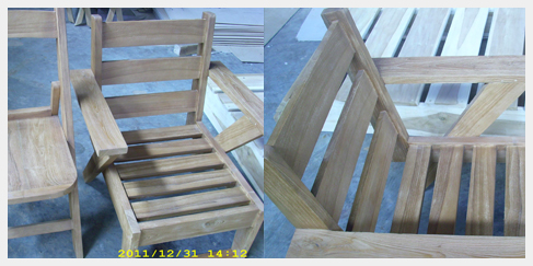 Pinamar Chair strandstoel strandstoeltje teak tuinmeubel