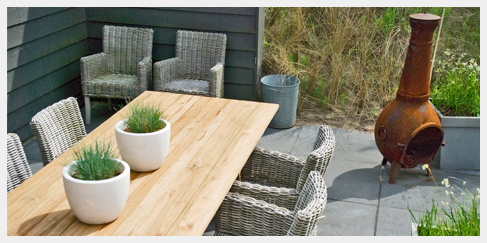 Outdoor garden furniture ibiza outdoor - Terras teak zwembad ...