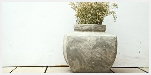 vaas pot aardenwerk decoratie woning tuin