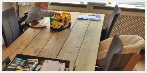 Teak tafel teakhouten meubel buitentafel