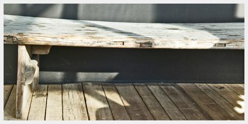 salontafel recycled steigerhout