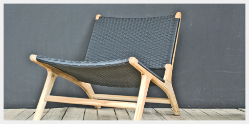 de laatste 8 Ushuaia lounge stoelen, perfect voor in de tuin of in de woonkamer