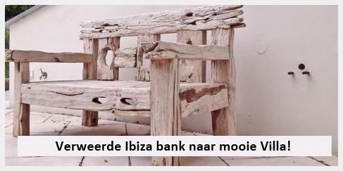 tuinmeubels bank ibiza stijl