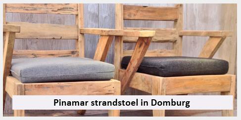strandstoel pinamar duinhuis Domburg Zeeland