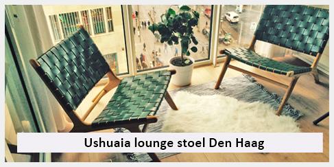 vintage lounge stoel woonkamer den haag