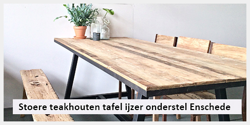 Eetkamer ibiza outdoor for Teakhouten tafel