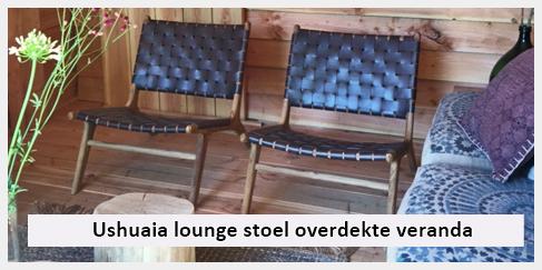 Ushuaia Lounge Stoel.Ushuaia Vintage Lounge Stoel Achtertuin Onder Overdekte Veranda