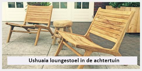 Houten Tuin Stoel.Ushuaia Lounge Tuinstoel Achtertuin Niels Ibiza Outdoor