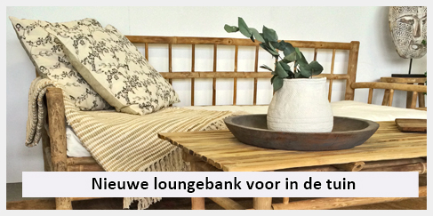 Design Lounge Tuin Bank.Nieuwe Lounge Bank Voor In De Tuin Terras Of Veranda Inclusief