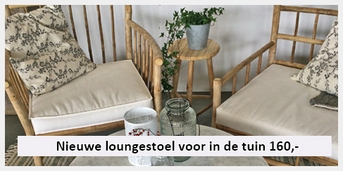 stoere salontafel en elegante bamboe tuinset