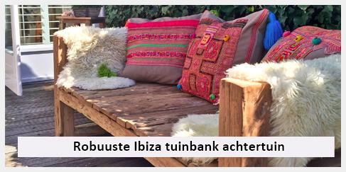 robuuste ibiza loungebank achtertuin amsterdam