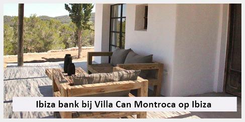 stoere robuuste tuinbank ibiza huis