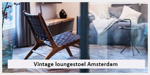 design lounge stoel woonkamer amsterdam inrichting