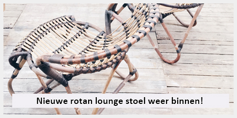 rotan loungestoel woonkamer