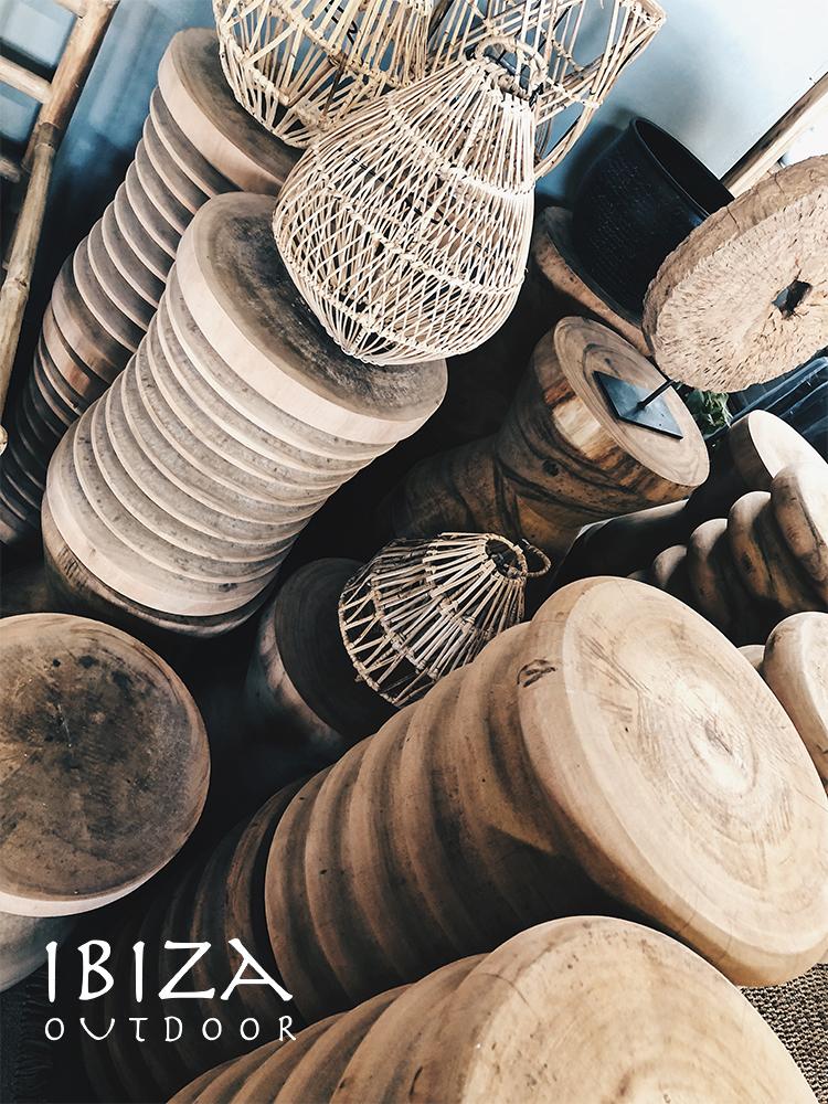 Massieve houten blokken Ibiza Outdoor