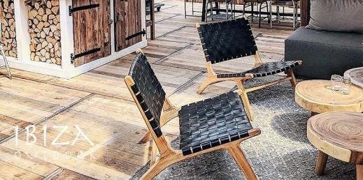 Ushuaia loungestoel bij restaurant Witsand in Noordwijk