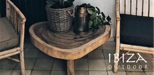 Ronde teakhouten salontafels - Ibiza Outdoor