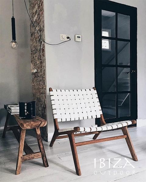 Ushuaia loungestoel wit