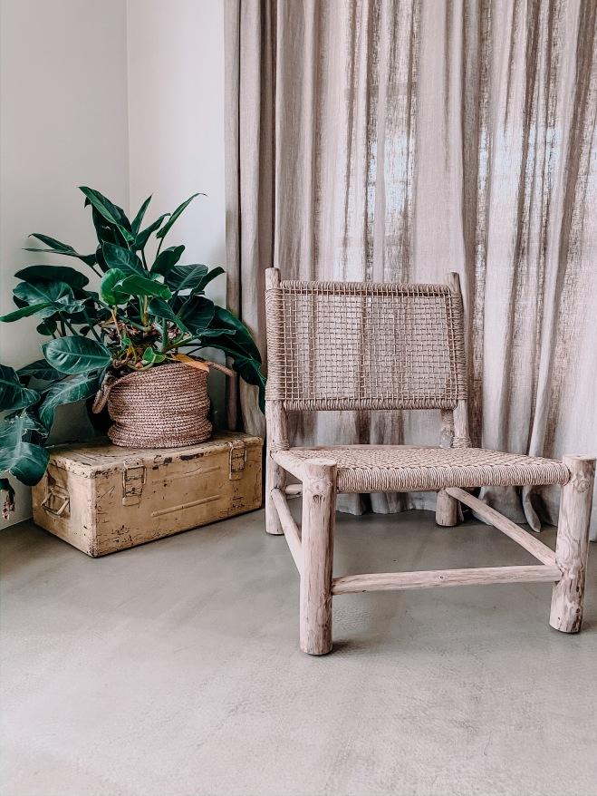 Loungestoel voor binnen of buiten
