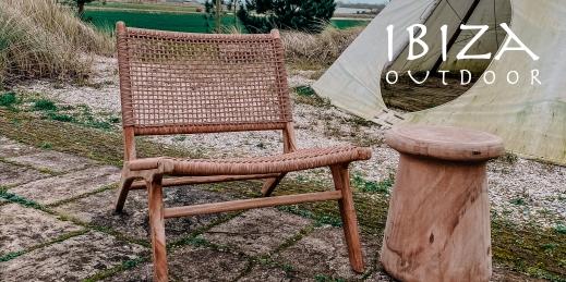 Ushuaia loungestoel synthetisch - Ibiza Outdoor
